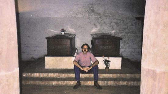 Goethe und ich, Juli 1991