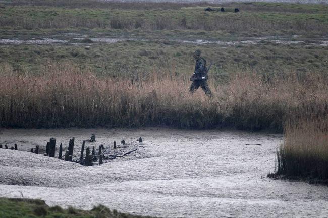 Jäger im Vogelschutzgebiet, Foto (C): Eilert Voß